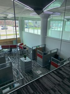 Second Floor view of new office