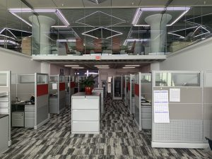 First Floor of New Office